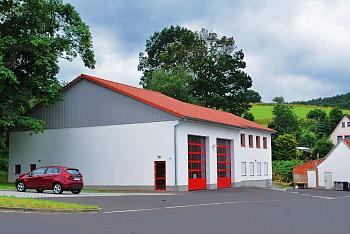 Feuerwehrhaus Kleinensee | Foto: Guido Kamm