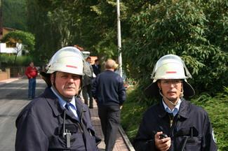 Wehrführer ist seit 1998 Peter Heiner, sein Stellvertreter seit 1999 Karl Brandt