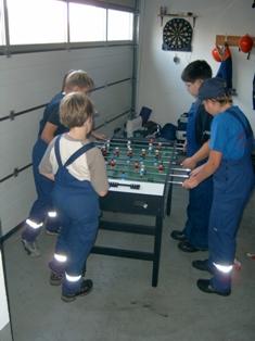 Spiele in Unterkunft